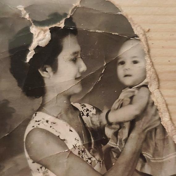 En mémoire de Marie Huguette Chantung (née Achim Chion)